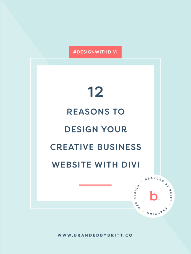 12 Reasons To Design Your Creative Business Website With Divi