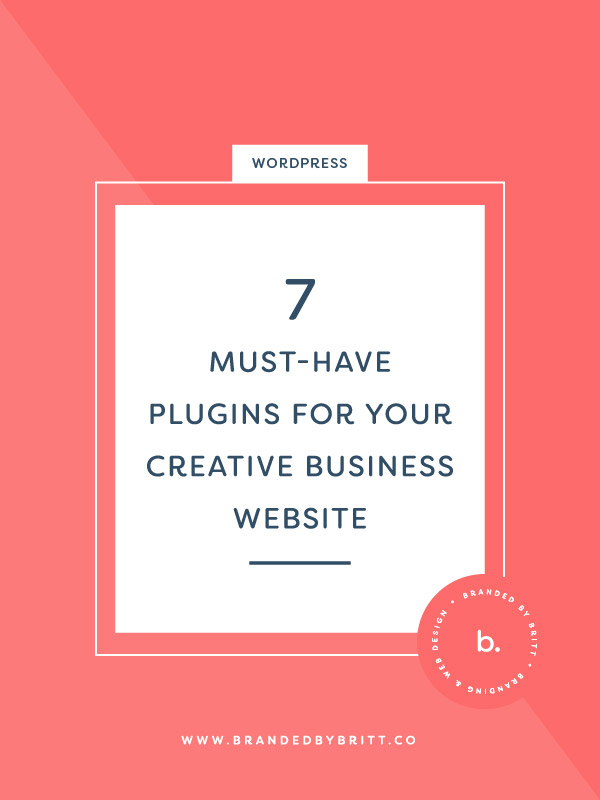 7 Must-Have Plugins For Your Creative Business Website