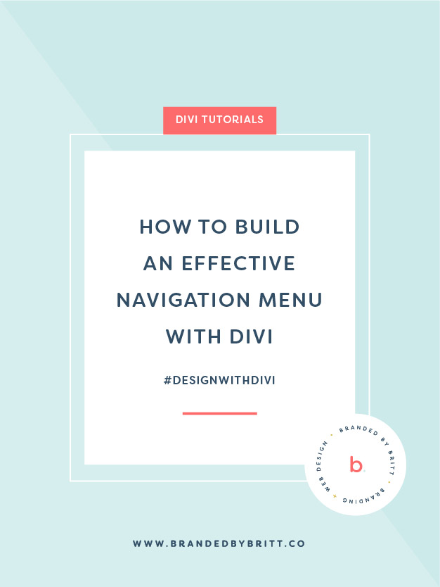 How To Build An Effective Navigation Menu With Divi