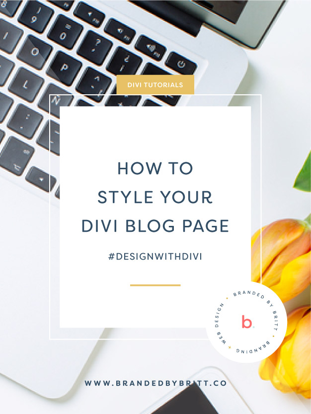 How To Style Your Divi Blog Page