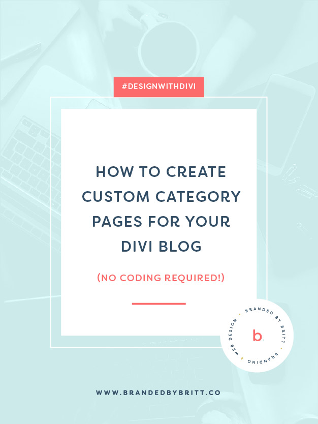 How To Create Custom Category Pages For Your Divi Blog