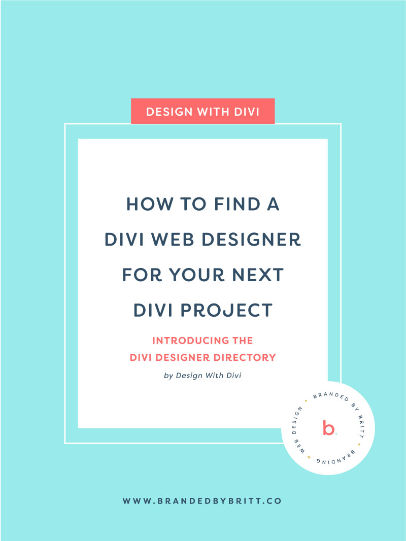 How To Find A Divi Web Designer For Your Next Divi Project