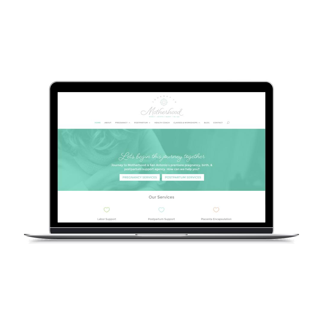 journey-to-motherhood-wordpress-web-design-divi-theme-branded-by-britt
